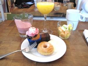 Brunch dessert American Table